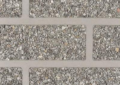 BSM Graniet zwart/wit op grijze voeg