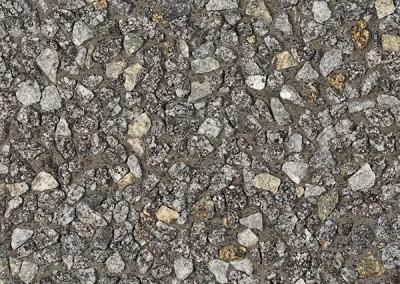 Granit 8/12 sur sable du Danube (ciment gris)
