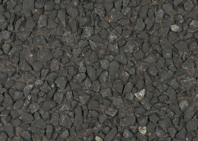 *Noir Ebene 8/12 + schwarzer Farstoff, nicht behandelt (grauer Zement)