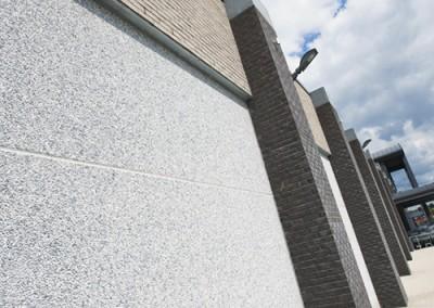 Blanc polaire S 8/12 a base ciment gris