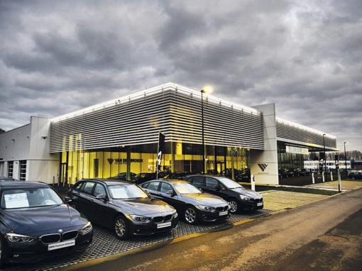 BMW garages